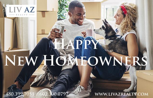 Happy New Homeowners